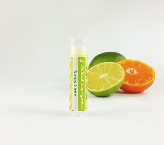 Check out this item in my Etsy shop https://www.etsy.com/ca/listing/262274888/tangy-lime-lip-balm-natural-beeswax