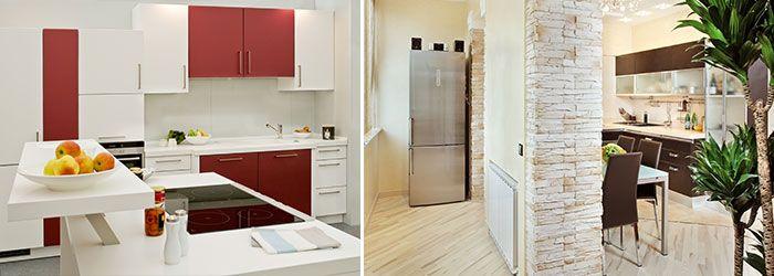 Kräftige Küchenfronten – Neutrale und pastellige Töne wirken ausgleichend