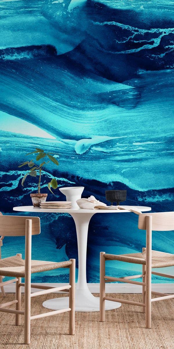 Abstract Blue Wallpaper Wall Murals Blue Walls Blue Wallpapers