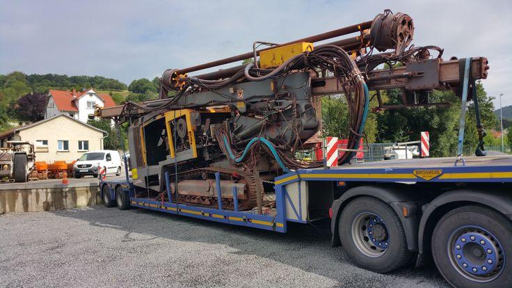 Used Atlas Copco ROC 8 Drill Rig for sale location Germany  #mining #mineria #construction #Equipment #Bergbau #sandvik #atlascopco