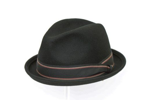 135 kr. Men's Wool Black Trilby Fedora Hat EA2 Euro Accessories http://www.amazon.co.uk/dp/B00IXP3F6A/ref=cm_sw_r_pi_dp_ini3wb1PGRSW6
