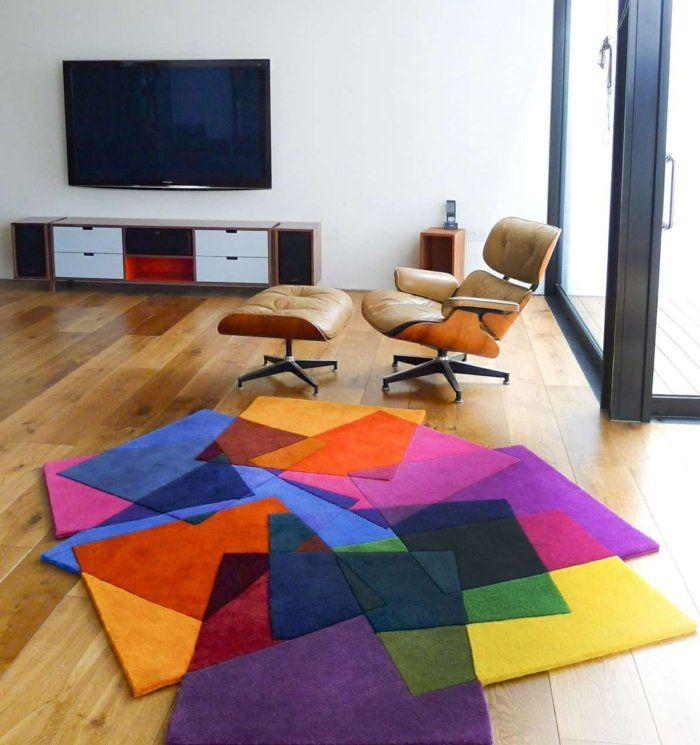 bunte teppiche moderne teppiche traumteppich