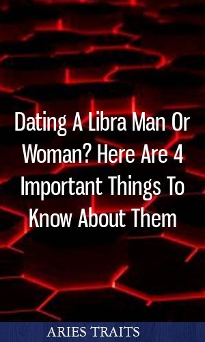 dating libra man