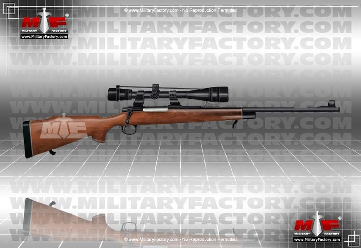 Remington Model 700 - The M24 Sniper Weapon System and M40 rifle are two militarized forms of the civlian Remington M700 rifle..