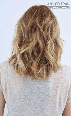 Perfect Layered Wavy Hairstyles for Medium Hair