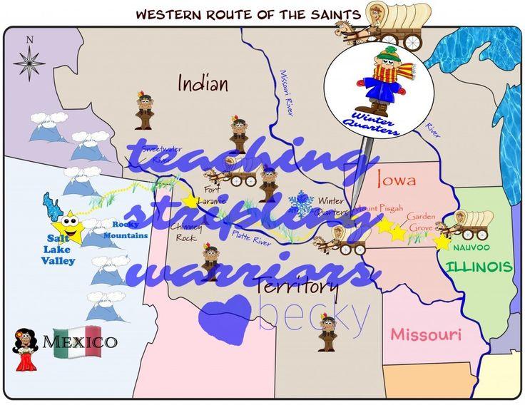 LDS Primary 5 Lesson Helps Lesson 39: The Saints Build Winter Quarters