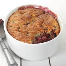 Self Saucing Mixed Berry Pudding
