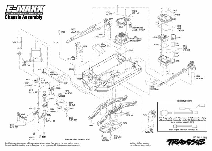 traxxas emaxx parts diagram brushless 3908 chassis. Black Bedroom Furniture Sets. Home Design Ideas