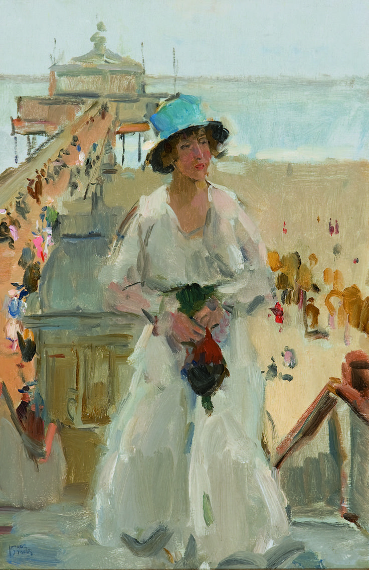Scheveningen ~ by Isaac Israels ~ private collection