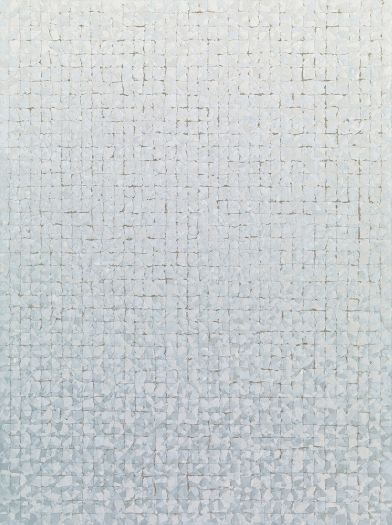 Chung Sang-Hwa Untitled 012-5-7, 2012 Acrylic on canvas 51 3/16 x 38 3/16 (130 x 97 cm)