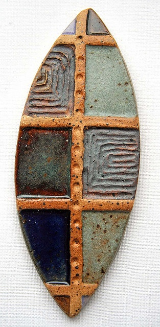 Cabochon by Lisa Peters Art, via Flickr  (Could be done in polymer clay)