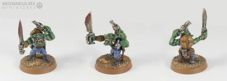 Grot Gretchin Goblin Gobo Ork Blood Axe Clan Warhammer 40K
