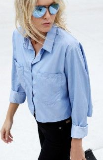 Hartley Cropped Shirt