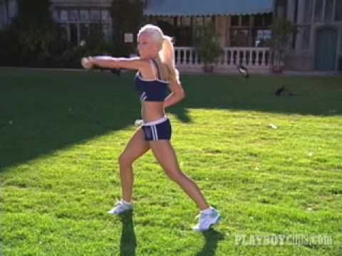 ▶ The GND Workout Video: Kendra Wilkinson - Playboy - YouTube