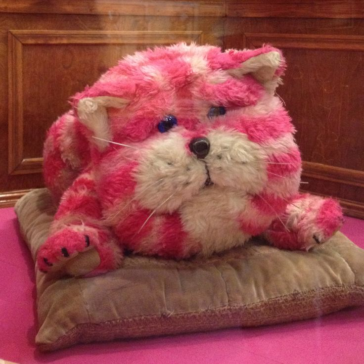 Bagpuss dear bagpuss old fat fury cat puss (03.07.16: Meeting special friends - Bagpuss, The Clangers, Ivor the Engine, and memories, at the V&A Museum of Childhood in London)