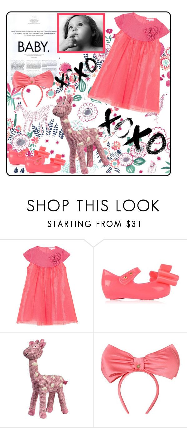"""""""Baby"""" by outfitsloveyou ❤ liked on Polyvore featuring Waverly, cutie & cool, Melissa, Anne-Claire Petit, Dansk and Federica Moretti"""