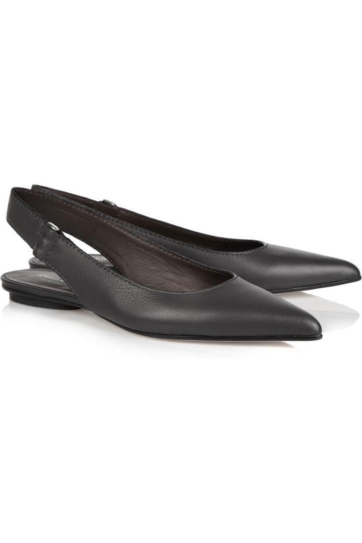 Calvin Klein Collection Kacia leather flats: Leather Flats, Klein Collection, Calvin Klein, Design Flats, Collection Kacia, Kacia Leather, Flats Shoes, Ballet Flats, Christmas Gifts