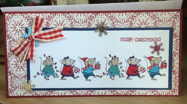 KraftingK, at Our Creative Den: Merry Christmouse