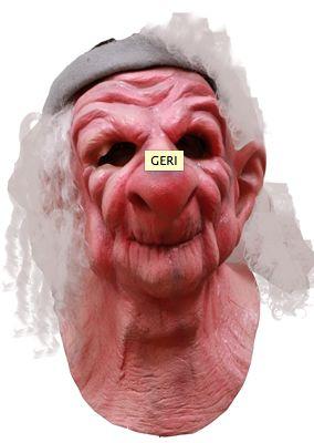 Máscara de viejito Geri