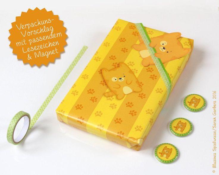 Geschenkpapier - Geschenkpapier Katze | Kater Miou - ein Designerstück von Illusine bei DaWanda