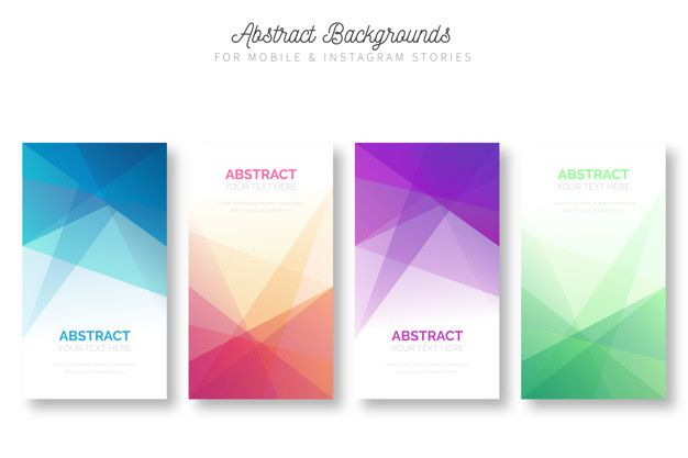 Download Abstract Background For Mobile Instagram Stories For