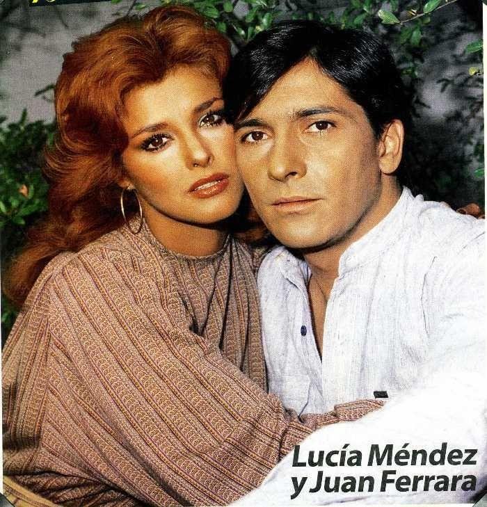Lucia mendez y Juan ferrara