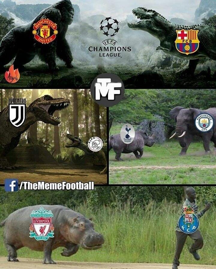 Soccer Memes Ajax Looking At Tottenham In The Ucl Facebook