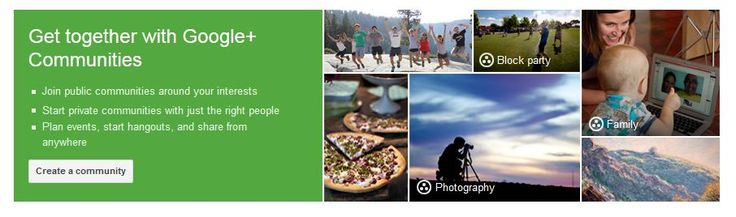 Drive Engagement with New Google+ Communities