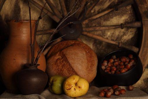 Download Free Stock Photos & Images:  - jars, Fruit, Hazelnut, Bottles. photo 0002900990AA