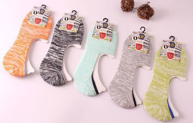 (5 pairs /lot ) wholesale socks slipper new high quality cotton anti slip silica gel ladies women brand short no show socks