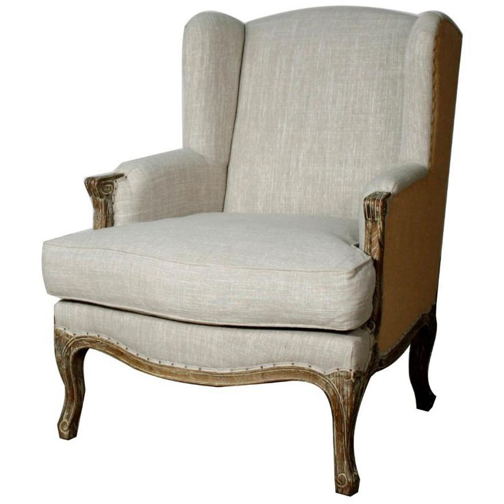 Add a charming accent piece to your dining room using the Marie Wing Armchair.