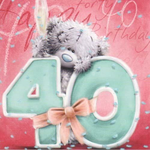 Tatty Teddy Happy Birthday 40