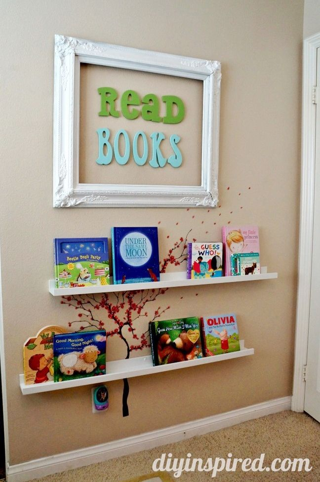 Best of DIY Inspired 2013- DIY Reading Nook for a kids bedroom
