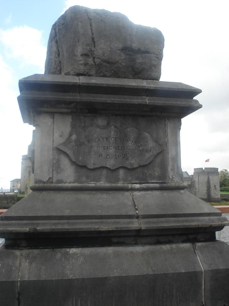 Treaty stone