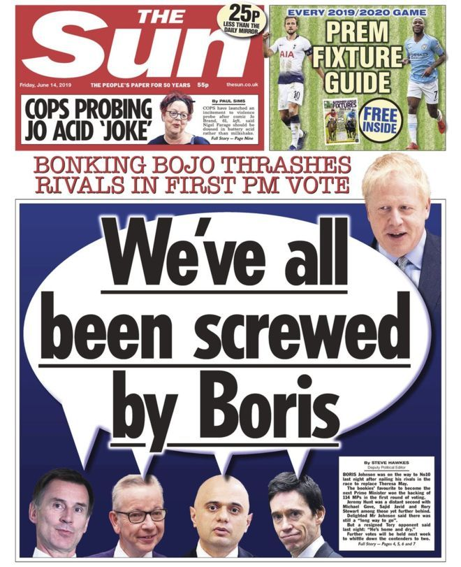 'Vanity candidates' have been 'screwed by Boris' Little