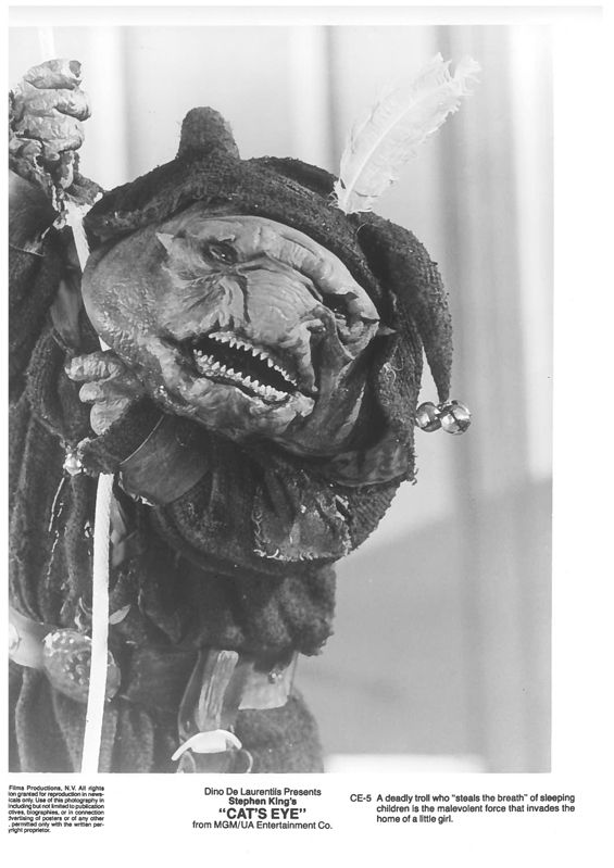 Cat's Eye movie monster troll still 1985 ...45 Creepy Old Movie Publicity Images - Westword