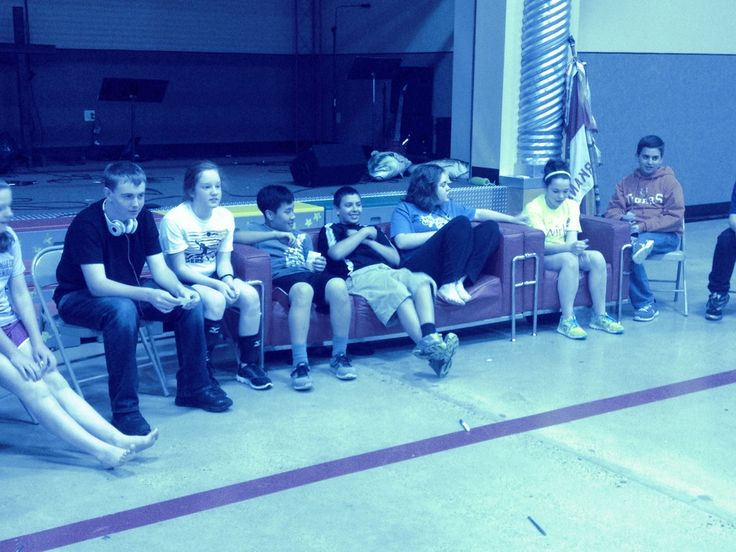 Youth Group Game: 4 On the Couch
