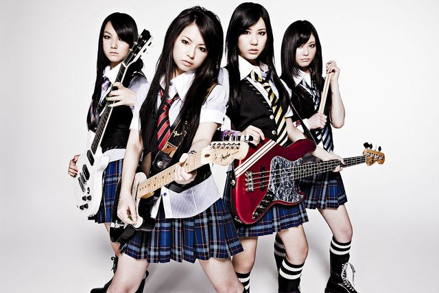 "SCANDAL ""The Most Powerful Japanese Girls Band"" by g2slp, via Flickr"
