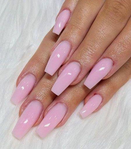 25 natürliche rosa Nägel – Pretty Nails