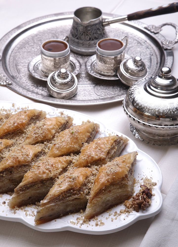 Turkish Coffee and Baklava