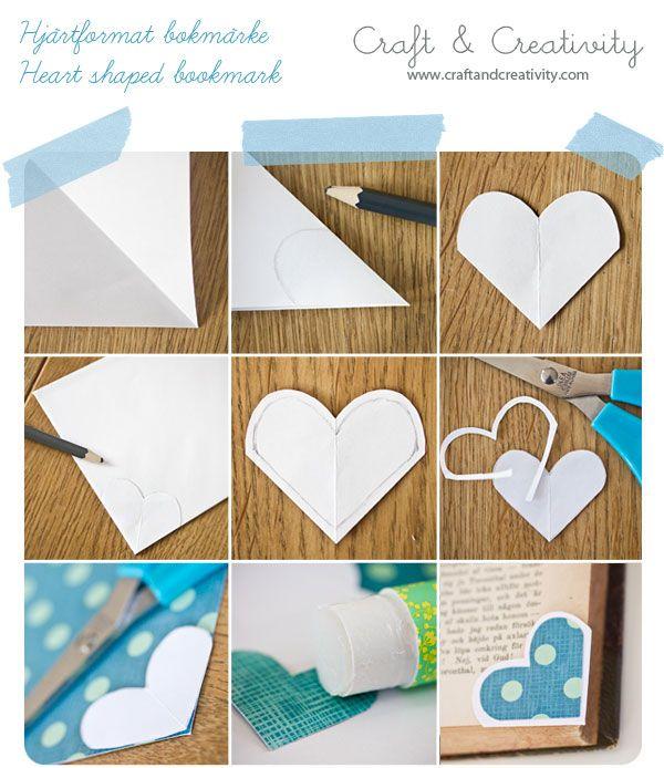 Dagens pyssel, bokmärken – Craft of the Day, bookmarks | Craft & Creativity – Pyssel & DIY