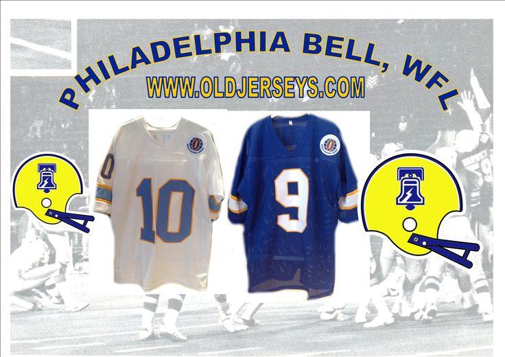 Philadelphia Bell Replica Football Jersey (World Football League)