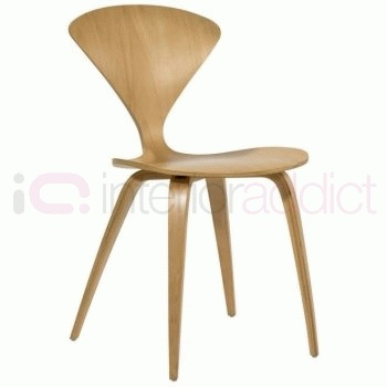 Norman Cherner style Plywood Dining Chair | Interior Addict | Modern Designer Furniture
