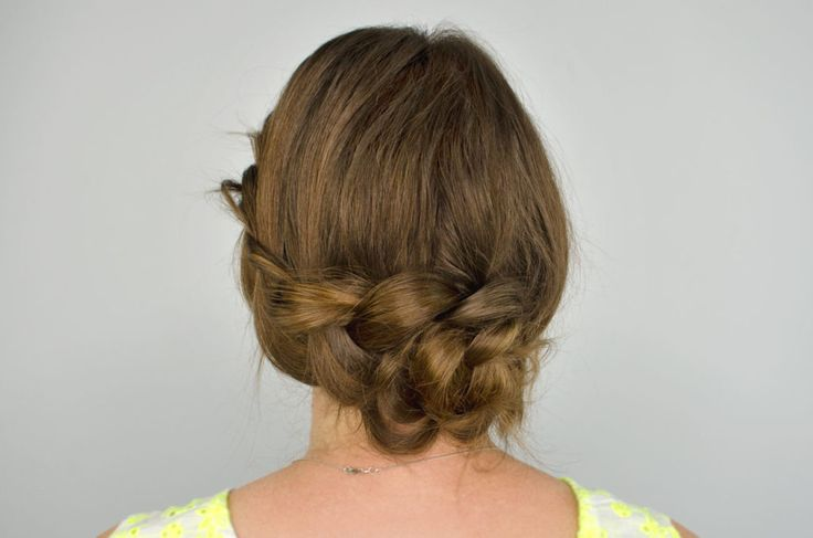 Braid a Knot hairstyle
