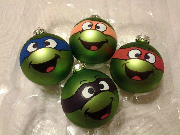 The 25+ best Ninja turtle ornaments ideas on Pinterest   Kids ...