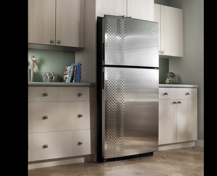gladiator chillerator fridge is perfect for garages workshops and man caves