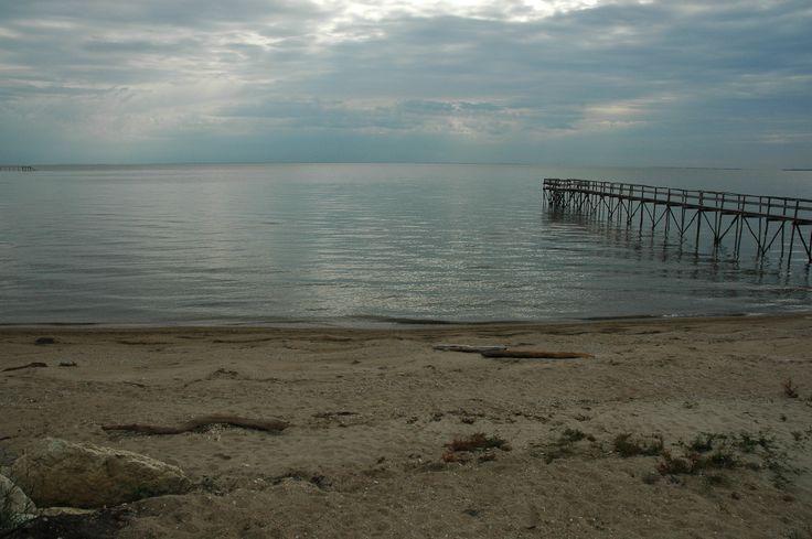 A bay on lake Winnipeg, on a summers day.