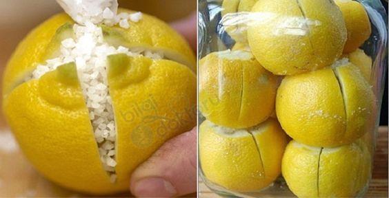 Üzerine Tuz Serpilmiş Limonu Odada Bekletin, Hayatınız değişecek.. | Bilgi Doktoru