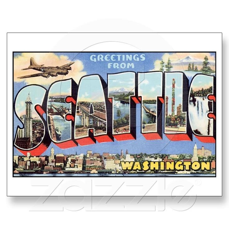 Vintage Seattle Postcards 53