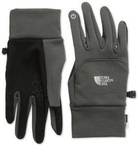 THE NORTH FACE - Gants - ETIP Glove Noir Synthetic Material. Imported. Etip functionality works with a touch-screen device. 5 Dimensional Fit™ ensures consistent sizing. http://bitly.com/1KhBwqk